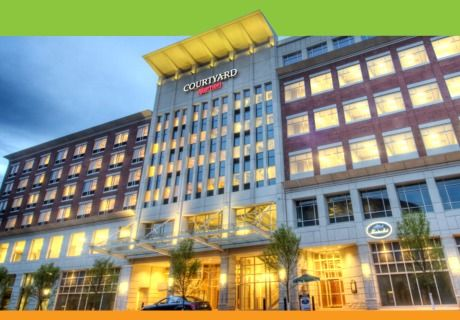 Greenville hotels SC: In the Heart of Downtown Greenville, the Courtyard by Marriott Greenville Downtown, SC is the perfect hotel for your next visit to Greenville.