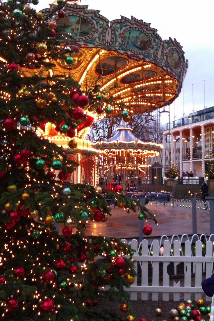 Christmas in Tivoli, Copenhagen Denmark