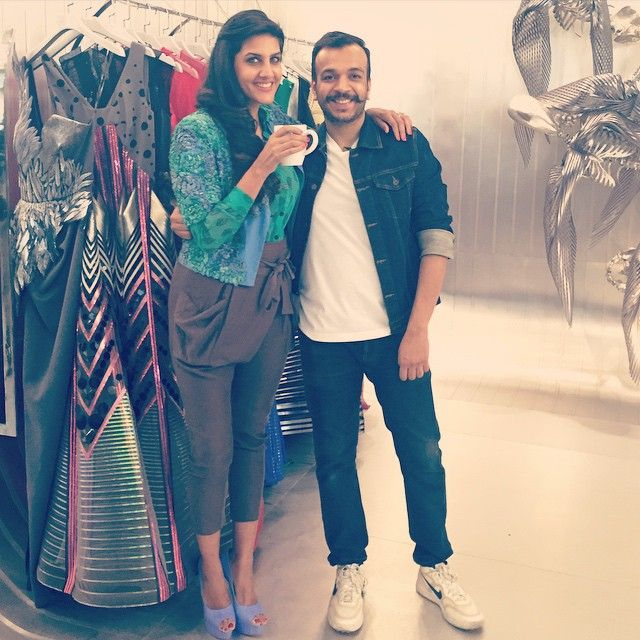 Shooting with @amitaggarwal11880 for Get the Look! Jacket by @ilkbysgva and shoes by Vincenzio Robertina