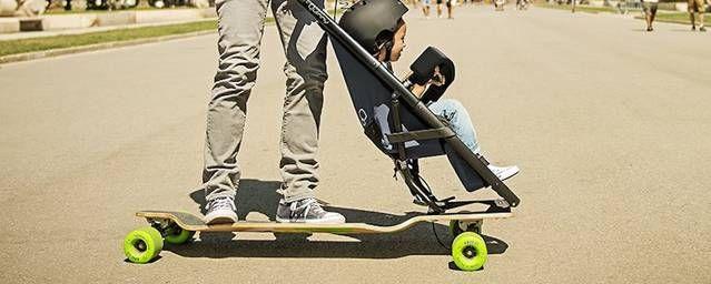 Smart Longboard Stroller Carrying Your Baby u2013 Fubiz Media For my