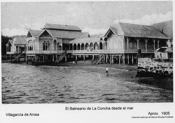 O balneario da Concha.