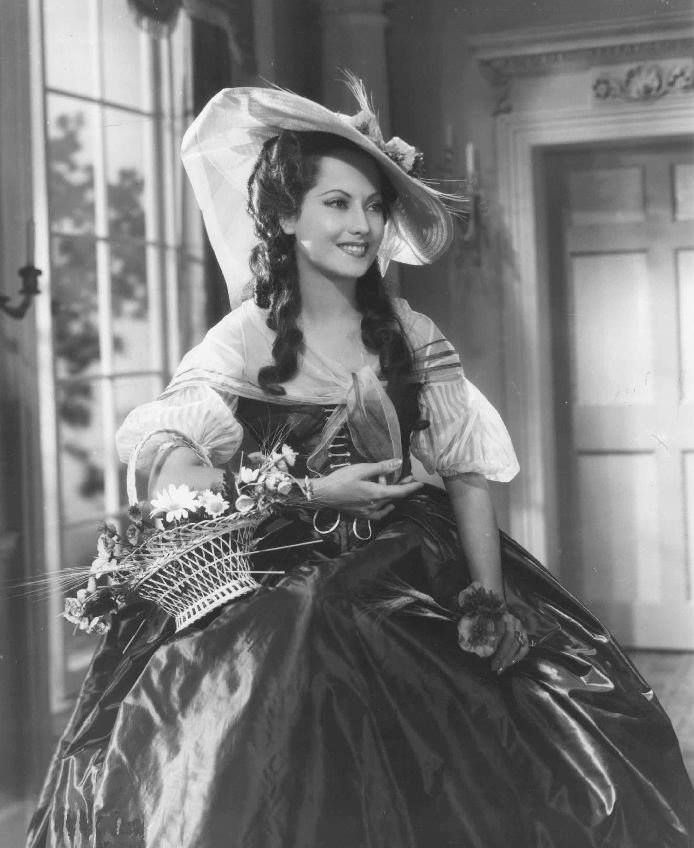 Merle Oberon in The Scarlet Pimpernel 1934                                                                                                                                                                                 More