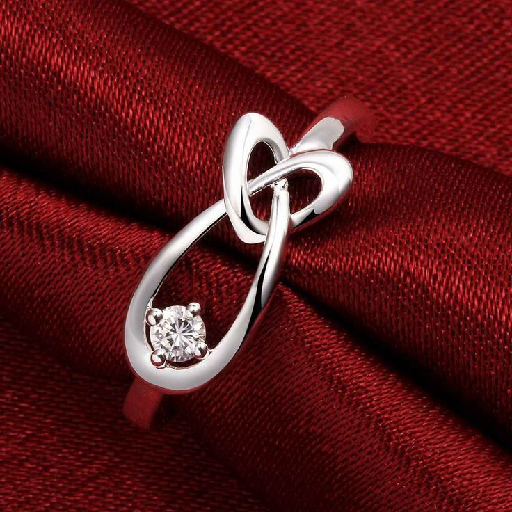 floating charms Plating silver wedding ring heart drop water anel collier plastron femme