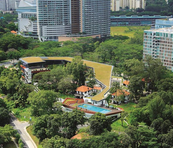 four acres singapore by DP architects