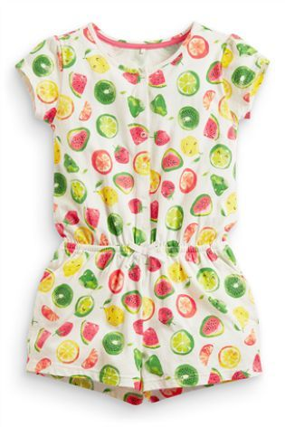 Buy Fruit All Over Print Playsuit (3-16yrs) from the Next UK online shop