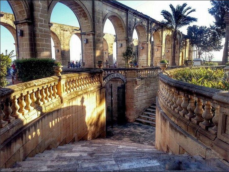 Upper Barrakka Gardens - Valletta