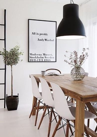 Eettafel Met 6 Witte Stoelen.Eettafel Met 6 Eetkamerstoelen Interieurs Dining Room