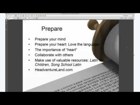 Classical Academic Press -- How to Teach Latin to 2nd-6th grade Students -