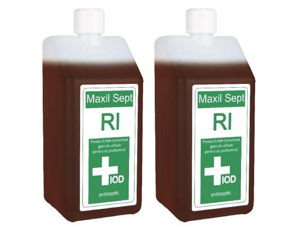 Maxil Sept RI este un produs antiseptic care se utilizeaza inainte de interventiile chirurgicale.