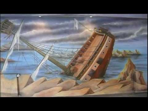 Malowanie kręgielni, mural part 2