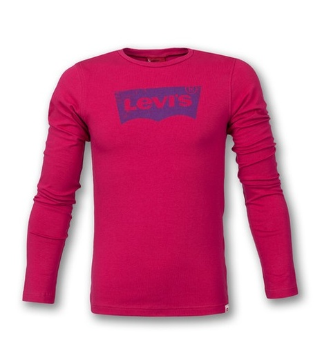 Camiseta manga larga de la firma Levis para esta temporada disponible en http://cerezasverdes.com/1089-camiseta-frambuesa-levis.html