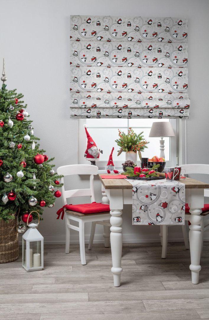 Swieta W Towarzystwie Pingwinow Decor Table Decorations Home Decor