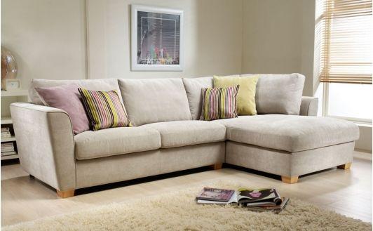 Brecon Fabric Corner Sofas - Home and Garden Design Ideas