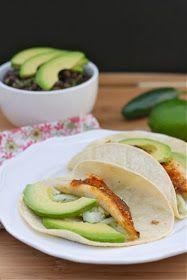 Healthy Mexican Dinner: Tilapia Tacos + Black Bean Salad