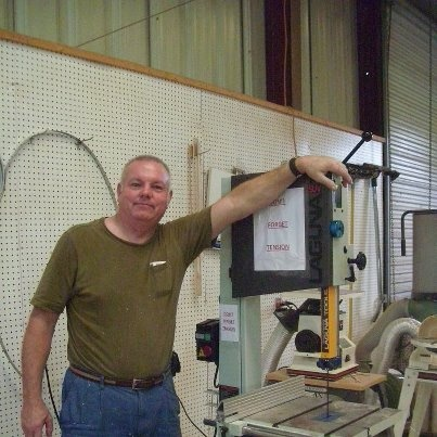 Al with his new Laguna Bandsaw