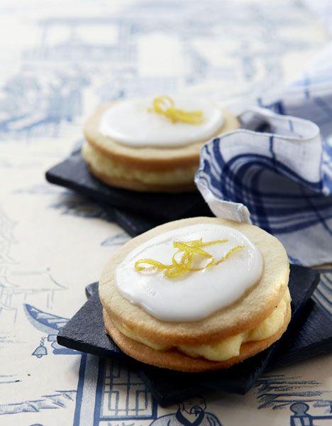 Citronmedaljer (Recipe in Danish)