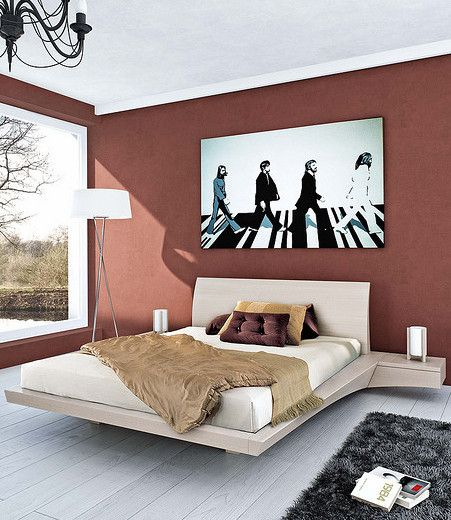 Walk this way beatles abstract wall art and beatles art for Beatles bedroom ideas