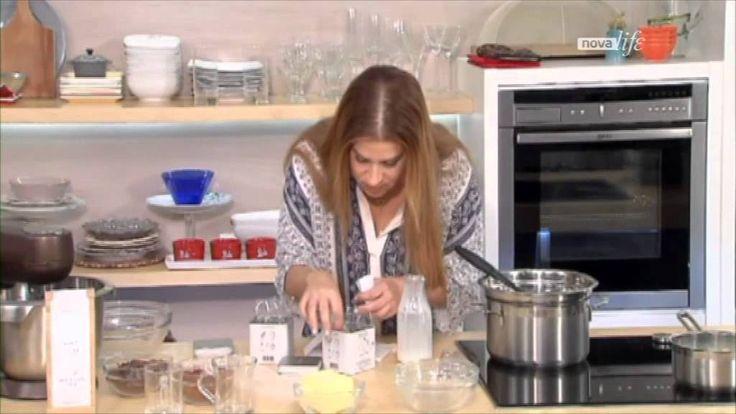 Choc Truffles with organic Lemon Verbena Anassa (video)  https://www.youtube.com/watch?v=yeuW3lfiRV4