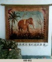 Oil Painting on Sheepskin