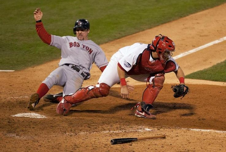 St. Louis Cardinals Yadier Molina  against Boston Red Sox Bill Mueller