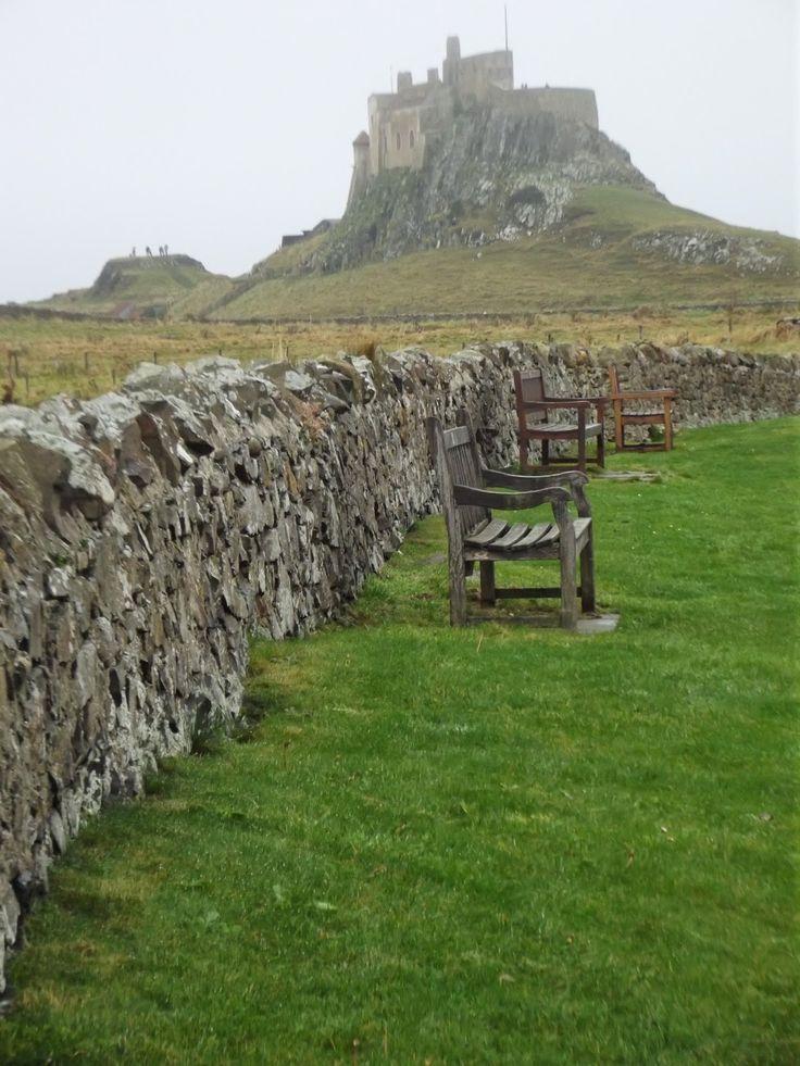 L.S.E. Mills: Lindisfarne Castle- Holy Island