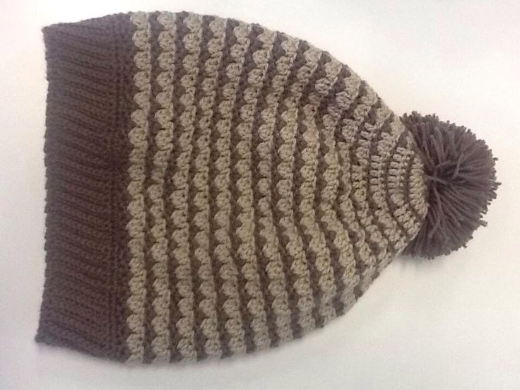 Test pattern hat, donated to Kogo
