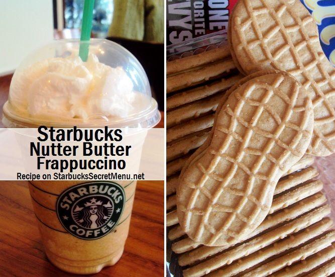 Starbucks Secret Menu Nutter Butter Frappuccino! Recipe here: http://starbuckssecretmenu.net/starbucks-secret-menu-nutter-butter-frappuccino/