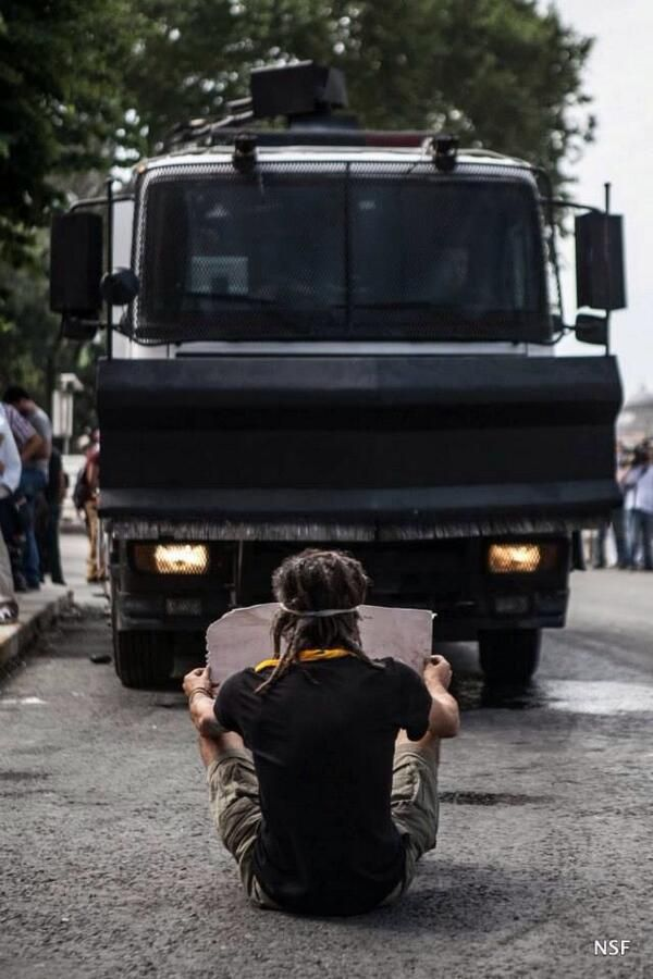 "The people of Istanbul have had enough of Turkish president Recep Tayip Erdogan's ""democratic"" facist dictatorship. Spread the world and help their cause.  #occupygezi #direngeziparki #occupyturkey"