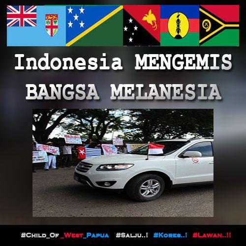 Indonesia MENGEMIS BANGSA MELANESIA di SOLOMON ISLAND, DAN DISAMBUT OLEH PEMUDA SOLOMON.... http://bit.ly/1AEltBU #Free_West_Papua #Salju #Kores #Lawan