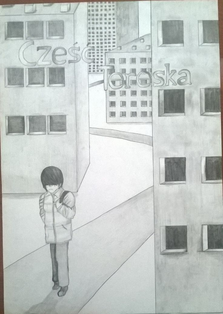I end drawing for art competition in my School. It's poster of polish movie, about being alone, sad. It's ok A2 size.