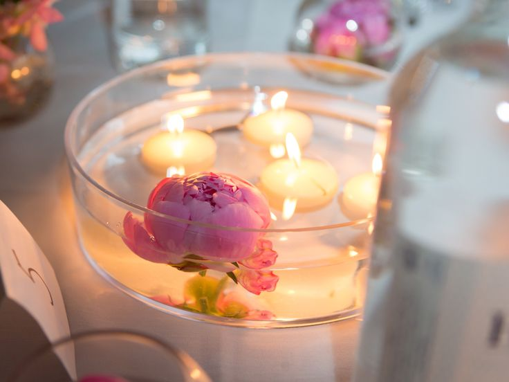 Sweet Peas Direct Wedding Table Candle Decoration