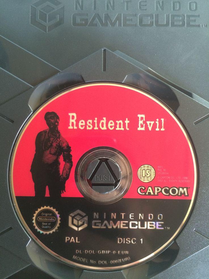 Resident Evil game disc 1.