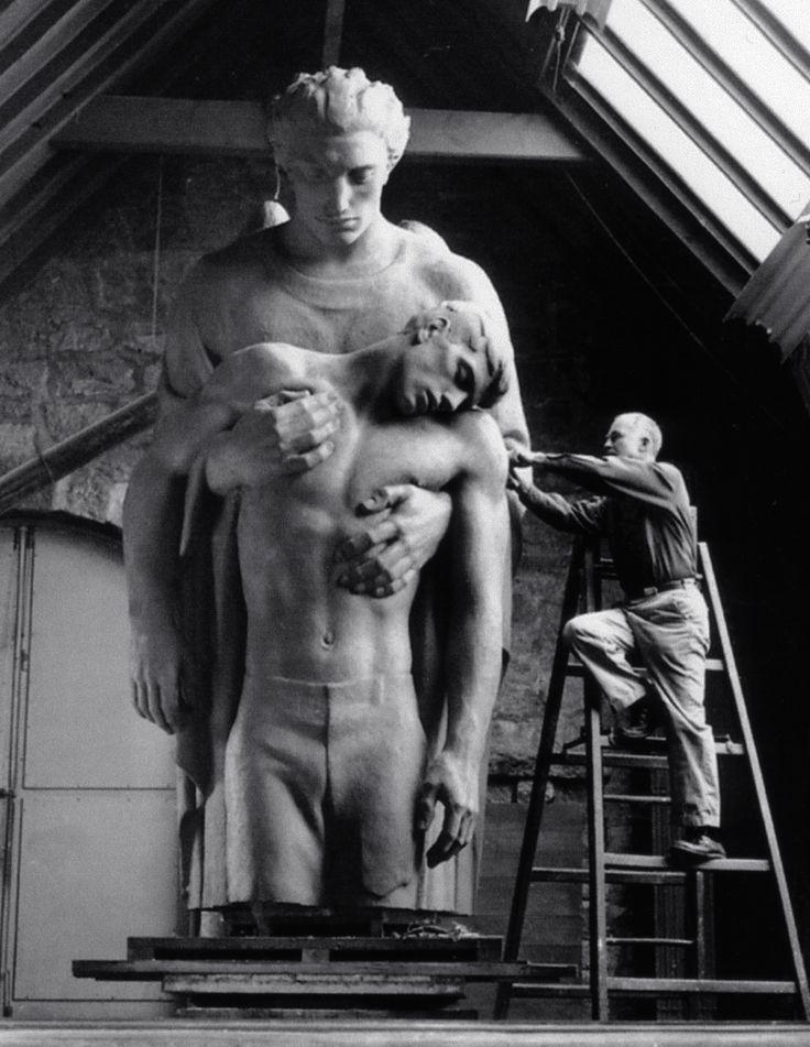 Walker Hancock :: Angel of the Resurrection, 1952