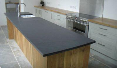 slate kitchen worktops - Google Search