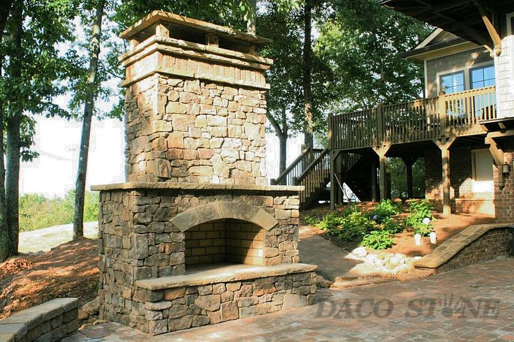 """Outdoor fireplace kit 36\"""""""