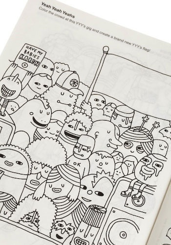 15 best The Indie Rock Coloring Book images on Pinterest ...