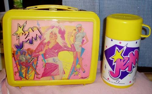 gem and the holograms lunchbox - why don't they make cartoons like this anymore!?? Jem was the best!