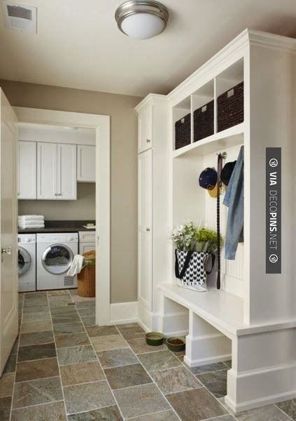 Beautiful Foyer Living Room Divider Ideas : Best images about laundry room mud entryway
