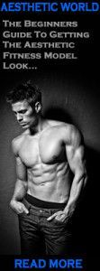 What does Aesthetic Bodybuilding mean? The term Aesthetic bodybuilding was coined from the meaning of Aesthetic (meaning beautiful) and bodybuilding (muscle building exercise).It is used to describe the ideal defined physique - such as - perfect symtery, six pack abs, round developed shoulders, large developed quads and glutes - the entire body developed with perfect muscular symmetry and proportion