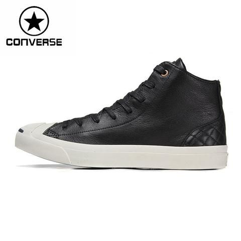 Converse Unisex Skateboarding Shoes leather Sneakers