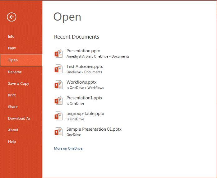 #PowerPoint_Online #Interface