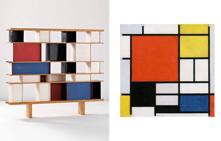 Perriand and Mondrian – The Artsology Blog