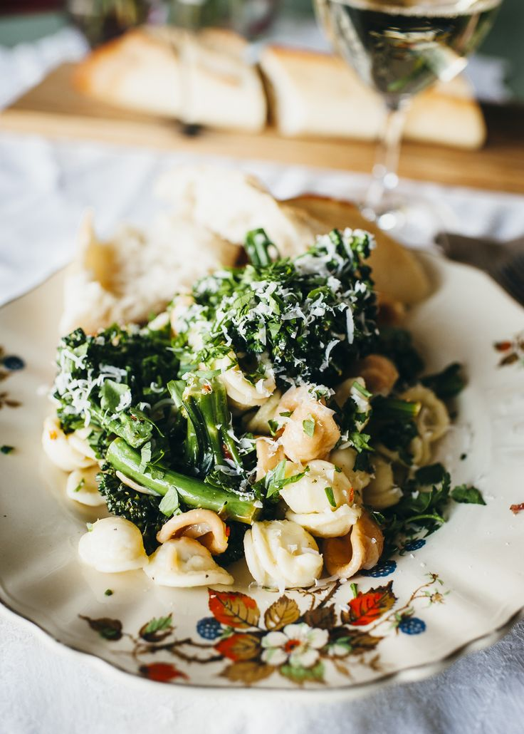 Orecchiette with broccolini and lemon and a snippet and new recipe from the Relish Mama cookbook, Food Recipes