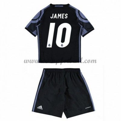 Fotballdrakter Barn Real Madrid 2016-17 James 10 Tredje Draktsett