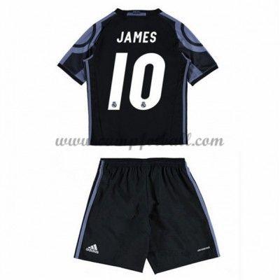 Fotballdrakter Barn Real Madrid 2016-17 James 10 Tredje Draktsett