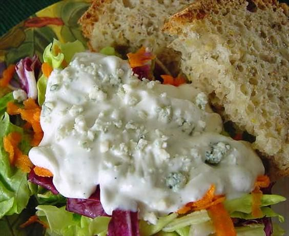 Outback Blue Cheese Salad Dressing - Copycat Recipe - Food.com - 110650: Outback Blue Cheese Dresses, Blue Chee Salad, Salad Recipes, Salad Dressings, Celebrity Recipe, Salad Dresses, Blue Cheese Salad, Chops Blue, Copycat Recipe