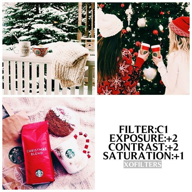 So,i'm not deleting this account but i can't post a filter everyday- - #vxefree This works on christmas pics or winter pics and kinda good for theming