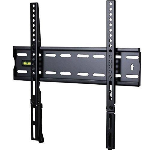 "VideoSecu Ultra Slim TV Wall Mount for most 27""-47"" LCD LED Plasma TV Some up to 55"" Flat Panel Screen Display with VESA 100x100 200x100 200x200 300x200 400x300 400x400 1"" Low Profile TV Bracket 1RX"