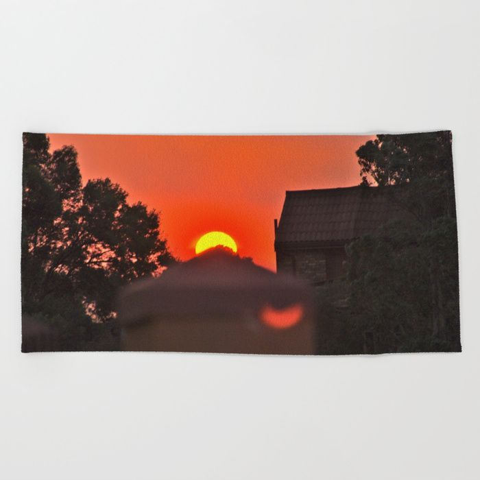 """Lay out like a pro with this super comfy, oversized and unique artist-designed Beach Towel. The soft polyester-microfiber front and cotton terry back are perfect for, well, drying your front and back. This design is also available as a bath and hand towel. Machine washable.  Towel Dimensions: 74""""x37"""""""