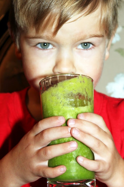 Incredible Hulk Green Smoothie   1 cup of apple juice  2 to 3 cups of baby spinach  1 slice (ring) of  fresh pineapple   1/2 of a banana (peeled)  1/2 of an apple (not peeled)  1/2 of an orange (peeled with a lot of the pith still on)  1/2 of a lime (not peeled)  2 cups of ice cubes  Blend and ENJOY!